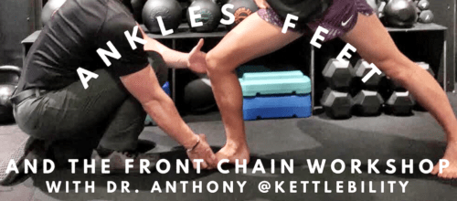 Ankles, Feet and the Front Chain Workshop | September 22nd 2018